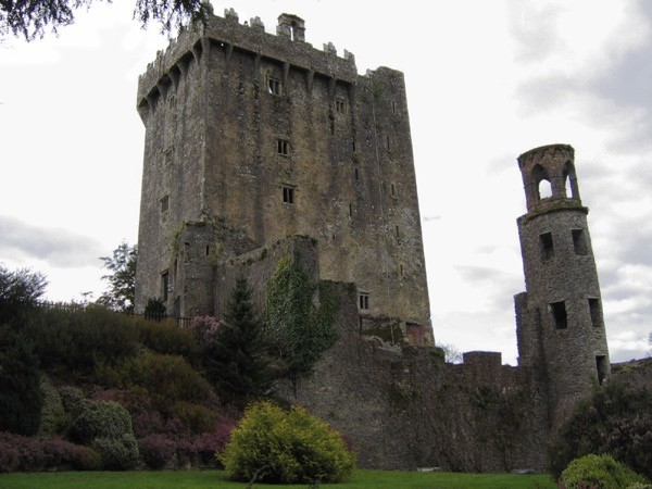 Fear and Kisses at Blarney Castle
