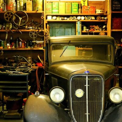 Cleaning Out the Garage with Your Spouse: The Good, the Bad, and the Mysterious